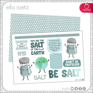 Be Salt - Matthew 5:13