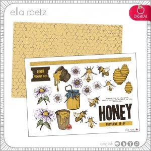 Honey - Proverbs 16:24