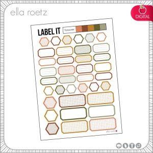 Terracotta - Label It
