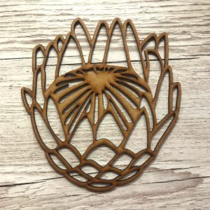 Protea - Wood - Small - LIMITED STOCK!